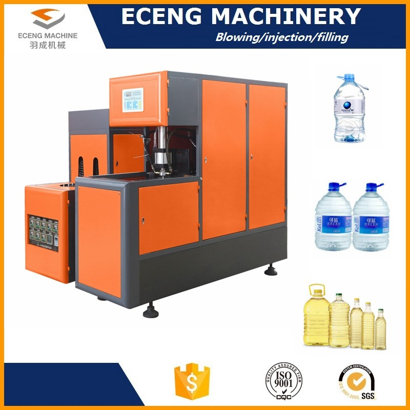 400 - 500 Pcs / H Pet Stretch Blow Machine With Independent Temperature Control