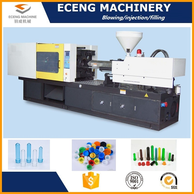 Electric Plastic Bottle Manufacturing Machines With Mechanical Safety Interlock
