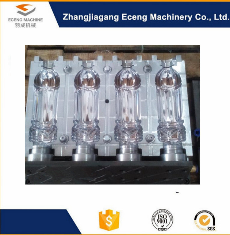 Multi Cavities Pet Preform Mould With High Efficiency Precision Machining
