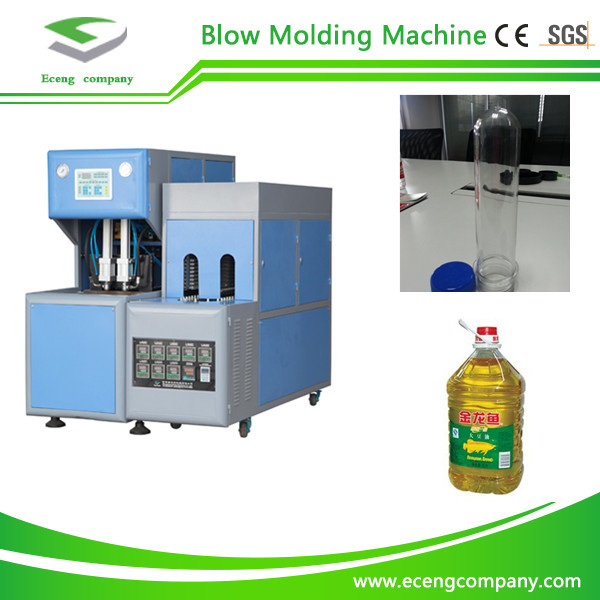 2 Cavity Semi Automatic Pet Blowing Machine For Medicine / Cosmetics Bottles